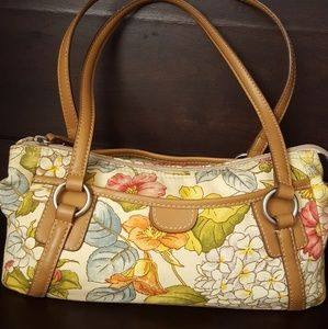 """FOSSIL Baguette 12x6""""in, Three Pockets"""